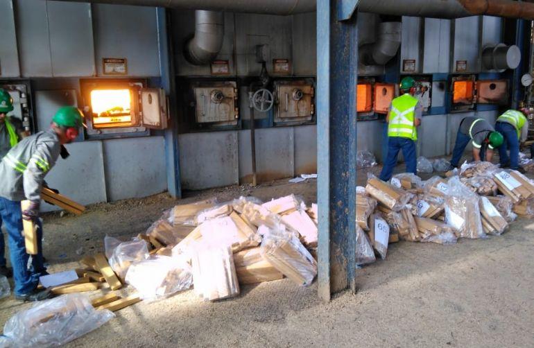 Polícia Civil - Incineração ocorreu em fornos de indústria sucroalcooleira
