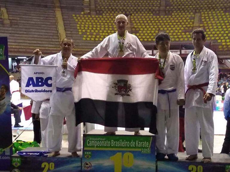 Cedida/Alexandre Serra - José Roberto Negri foi o único de PP a conquistar o ouro na competição