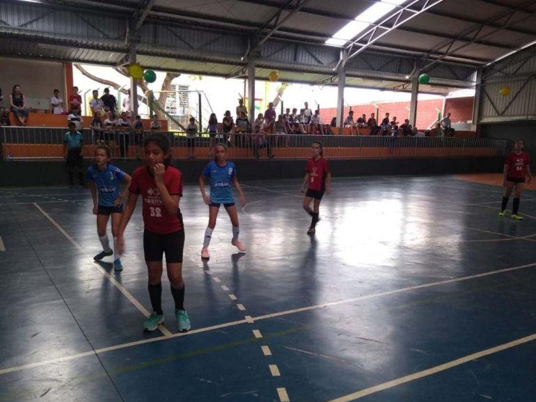 Cedida/David Teles - Partidas que envolvem 14 escolas particulares da cidade continuam até 13 de novembro