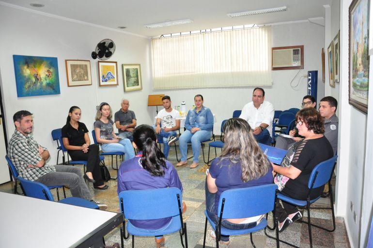 José Reis - Parceiros se reuniram na manhã de ontem para planejamento da campanha