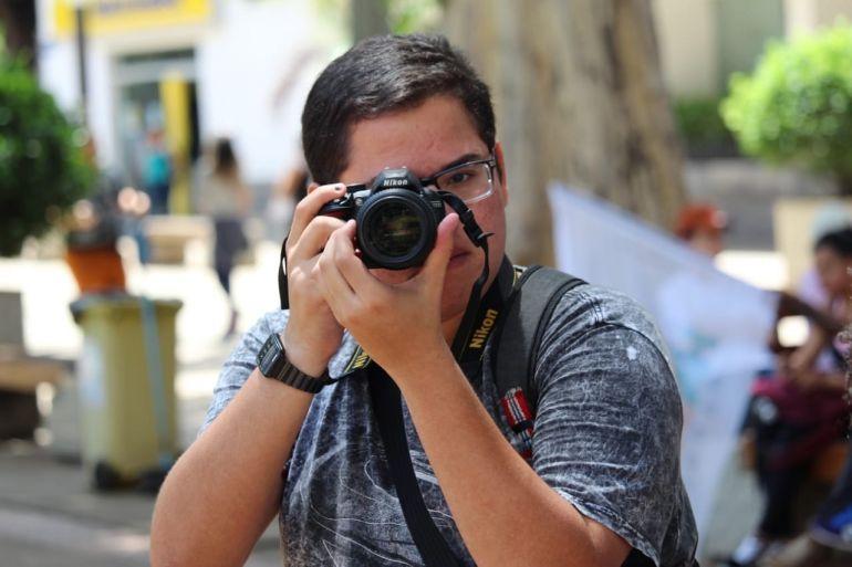 Rebeca Okubo/Cedida - João Lucas documenta ações de demais grupos da FCT/Unesp e atividades agrárias