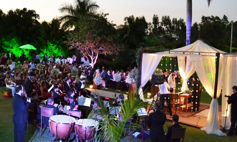 Cerimônia de casamento, no Terra Parque Eco Resort