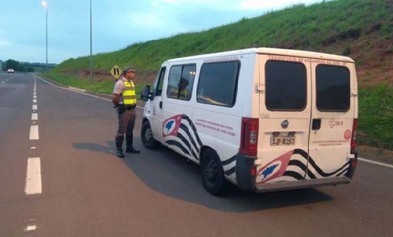 Polícia Militar Rodoviária - Veículos foram abordados hoje enquanto passavam pela Rodovia Raposo Tavares