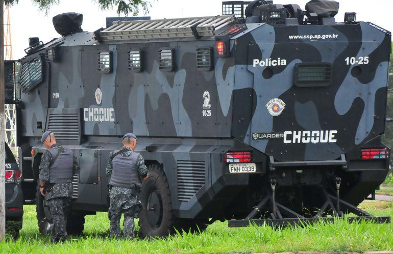Arquivo - Policiamento foi intensificado na cidade desde o início do mês passado
