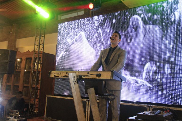 Ricardo Bombarda volta a alegrar o natal do Terra Parque Eco Resort