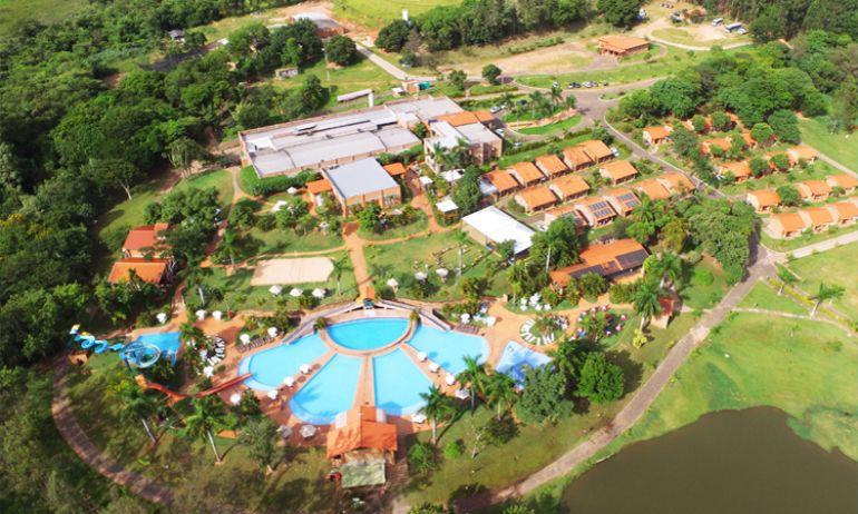 Cedida  - Imagem panorâmica da área do Terra Parque Eco Resort, em Pirapozinho