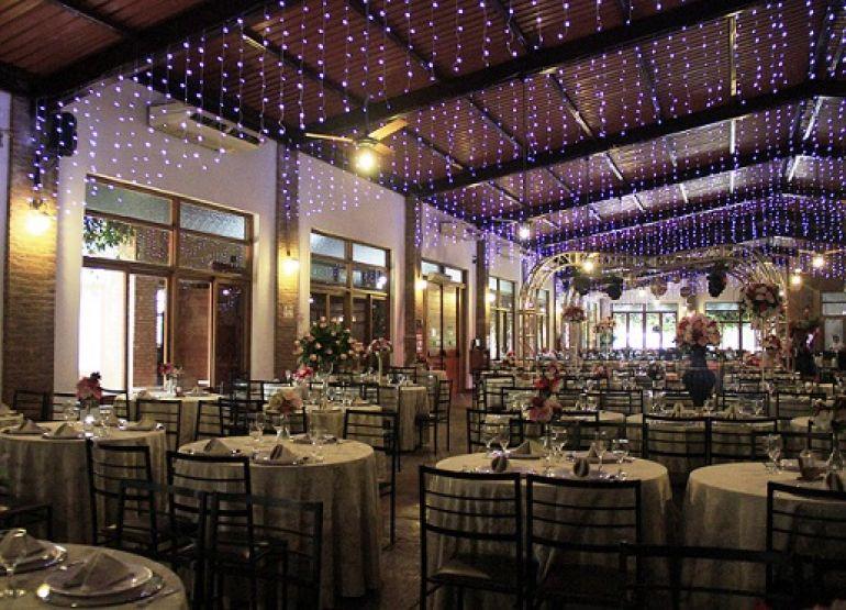 Restaurante do Terra Parque Eco Resort: reservado para a festa de Natal