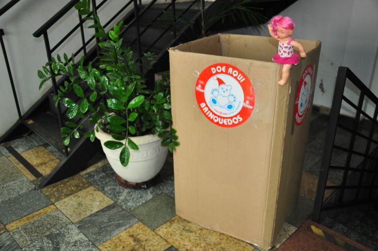 José Reis - Caixas de coleta de doações estão espalhadas em 34 pontos da cidade