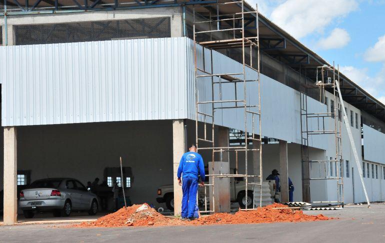 Marcio Oliveira - Novo local fica no distrito industrial, próximo ao aterro sanitário municipal