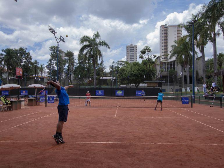 Cedidas/Gilmar Cruz - Tamboré Open de Tênis movimentou as quadras do TCPP