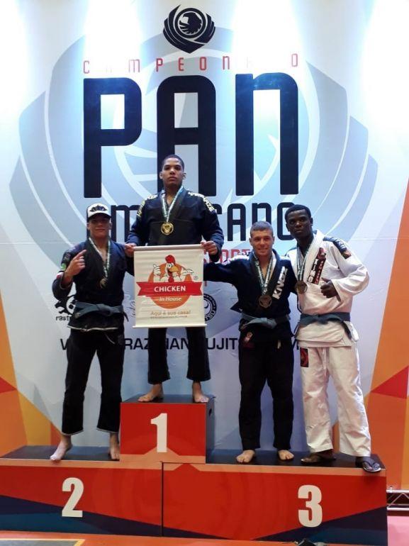 Foto: Cedida /Aaron iniciou no jiu jitsu, inspirado em lutadores de alguns filmes