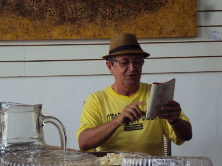 Cedida: Renato diz que foi no Caipirapuru que se descobriu escritor e cordelista