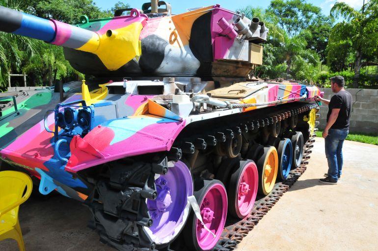 Arquivo - Tanque de guerra ganhou novas cores no fim do ano, mas novo projeto é formulado