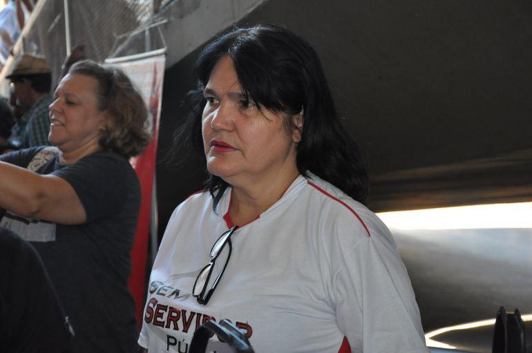 Arquivo - Sônia explica que, caso problema não seja resolvido, sindicato tomará medidas judiciais
