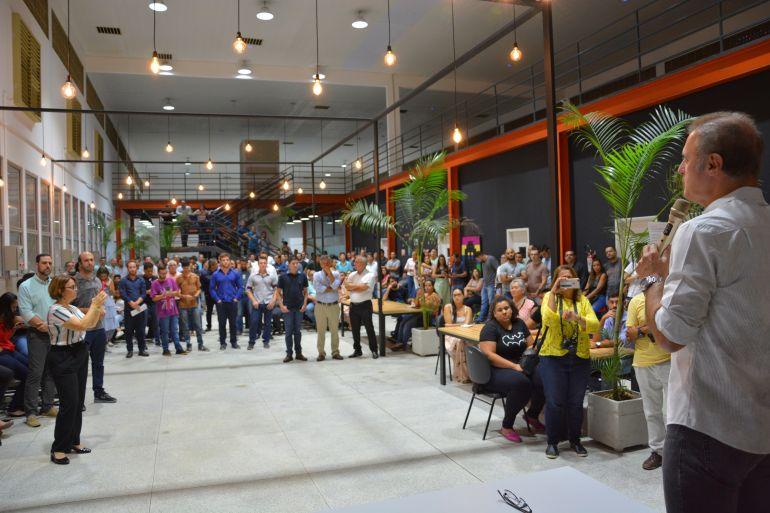 Juliane Rígolo/Cedida - Programa InovaTec foi apresentado pelo prefeito na última semana, na Inova Prudente