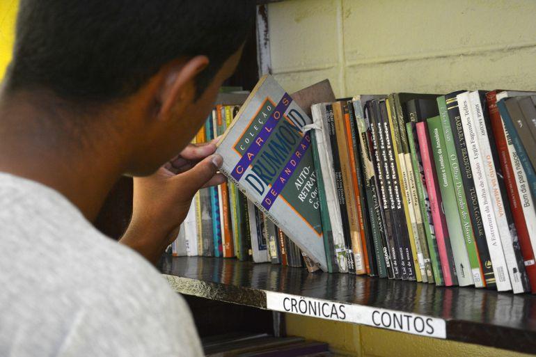 Eliel Nascimento / FCasa: Unidade de Bernardes tem acervo de aproximadamente 600 livros