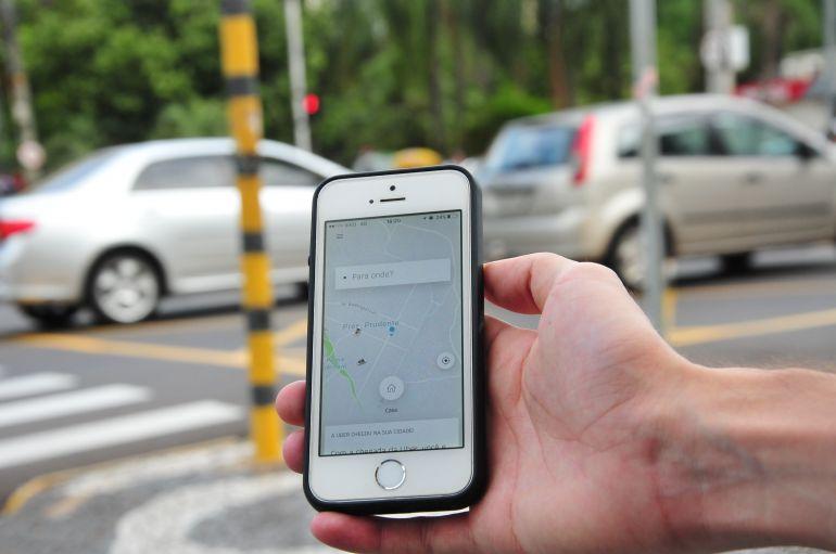 Arquivo - Decisão atinge todos os trabalhadores de transporte de passageiros por aplicativos em Prudente