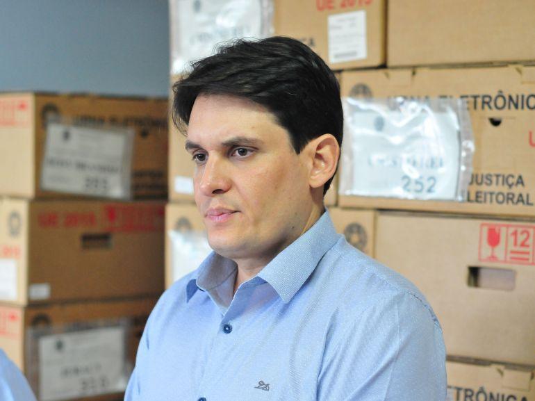 """Arquivo - Fabiano: """"É uma transição importante para a Justiça Eleitoral"""""""