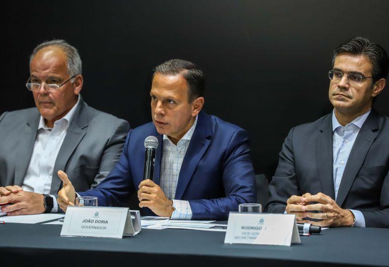 AI do governo do Estado - Assinatura do decreto ocorreu ontem, durante encontro com secretários em São Paulo