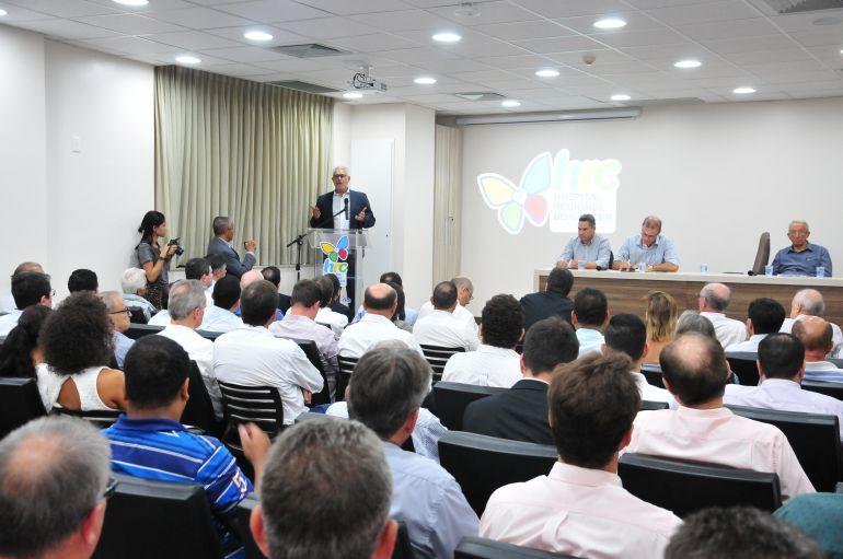 Marcio Oliveira - Evento ocorreu na tarde de ontem e reuniu autoridades e membros da sociedade civil