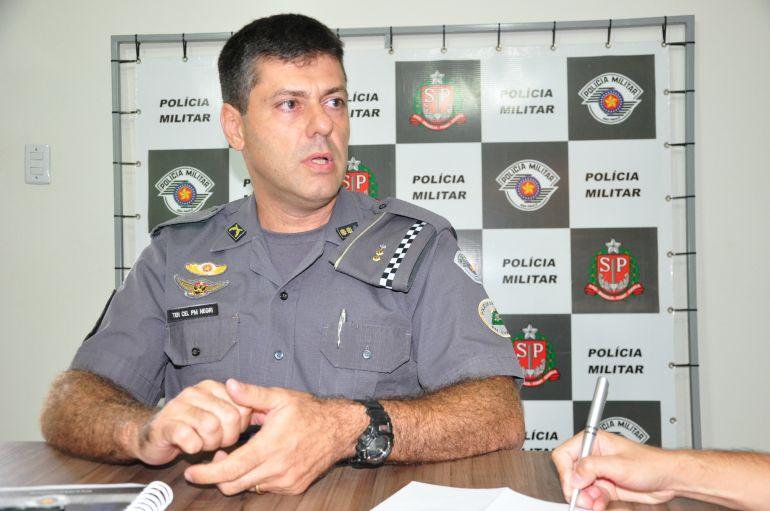José Reis - Negri foi designado para comandar o 8º Baep em Prudente