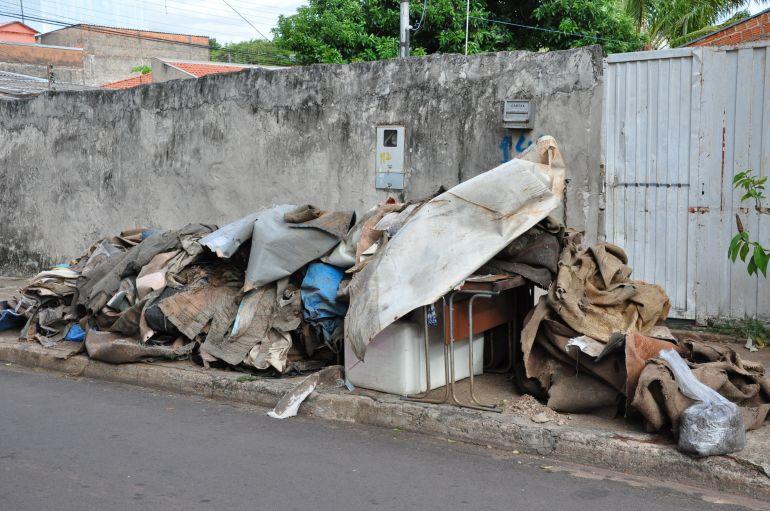 José Reis - Operação objetivou o recolhimento de móveis e eletrodomésticos sem uso