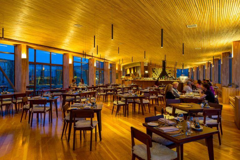 Na entrada do Parque Nacional Torres del Paine fica o Tierra Patagonia, da rede Tierra Hotels.