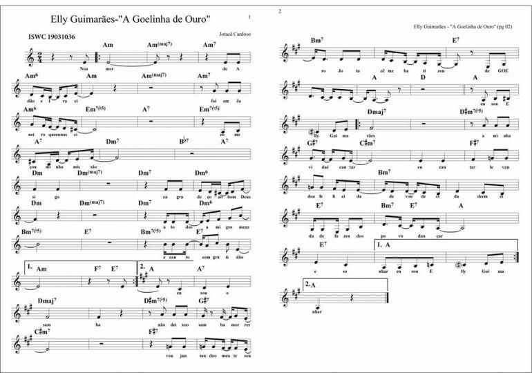 Cedida/Jotacê Cardoso:Música celebra mais de uma década de amizade entre Elly Guimarães e Jotacê