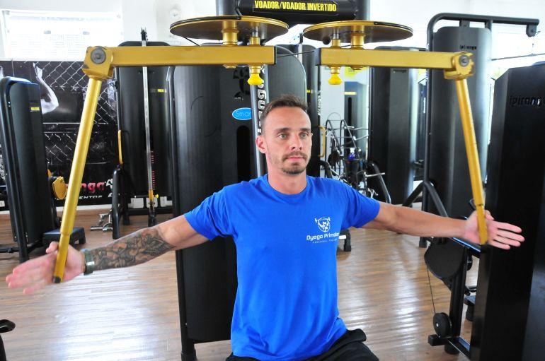 Marcio Oliveira - Dyego Primolan explica que, quando bem orientada, atividade física não tem restrições